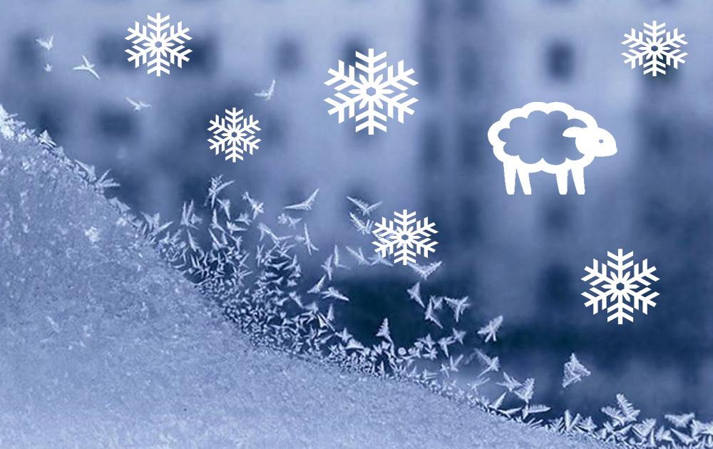 Как украсить окна к Новому году - фото №5