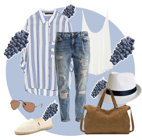 Как одеться на пикник: 4 готовых образа