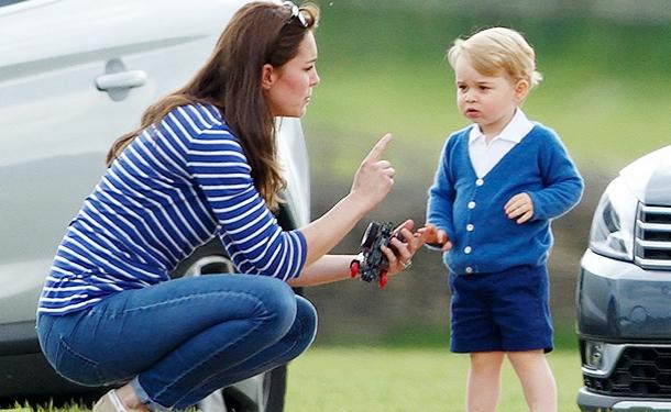 Кейт с сыном