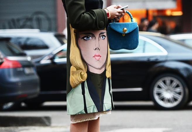 Уличный стиль на Неделе высокой моды в Париже - фото №8