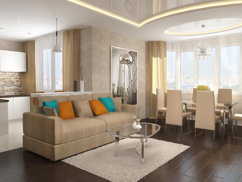 Как оформить квартиру-студию: 5 правил интерьера open-space - фото №3