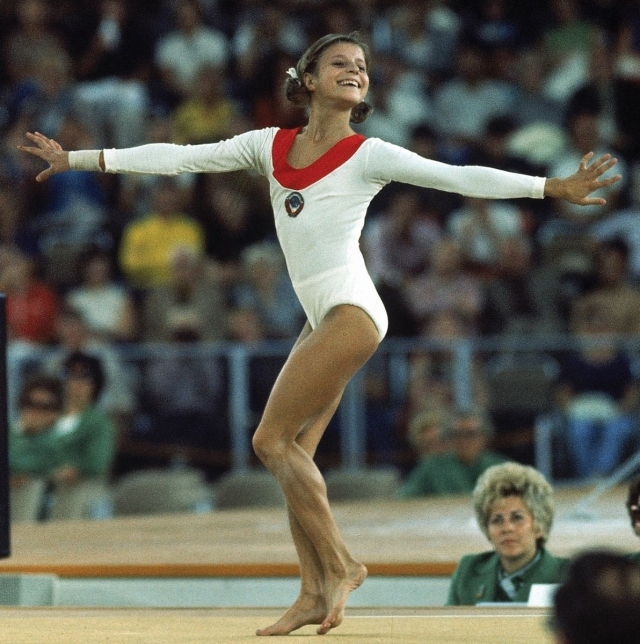 Олимпиада в Рио-де-Жанейро-2016 Ольга Корбут на Олимпиада в Мюнхене 1972