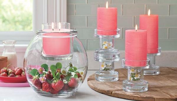 красивые свечи фото