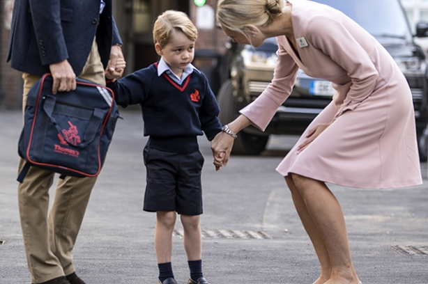 принца джорджа хотят отчислись из школы