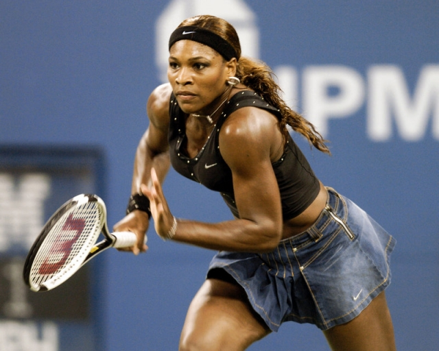 Лучшие выходы Серены Уильямс на теннисный корт U.S. open 2004