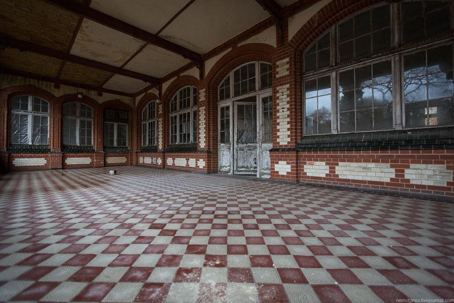 Заброшенная больница Белиц-Хайльштеттен