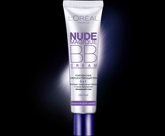 L'Oréal выпустил ВВ-крем Nude Magique - фото №1