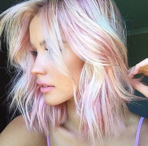 Модное пастельное окрашивание волос: 8 интересных идей - фото №2