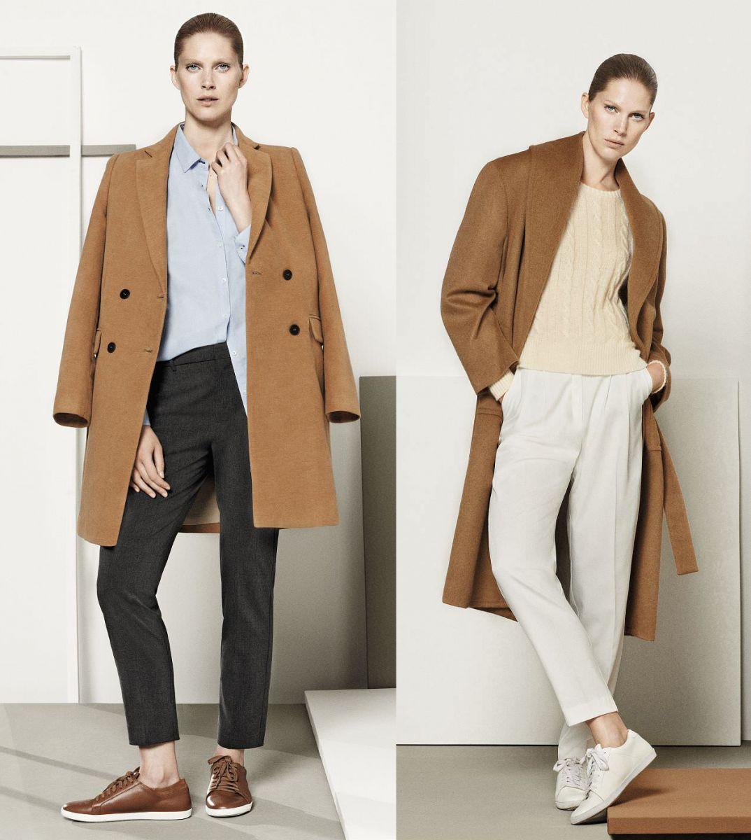 20 пальто цвета camel  в магазинах - фото №3