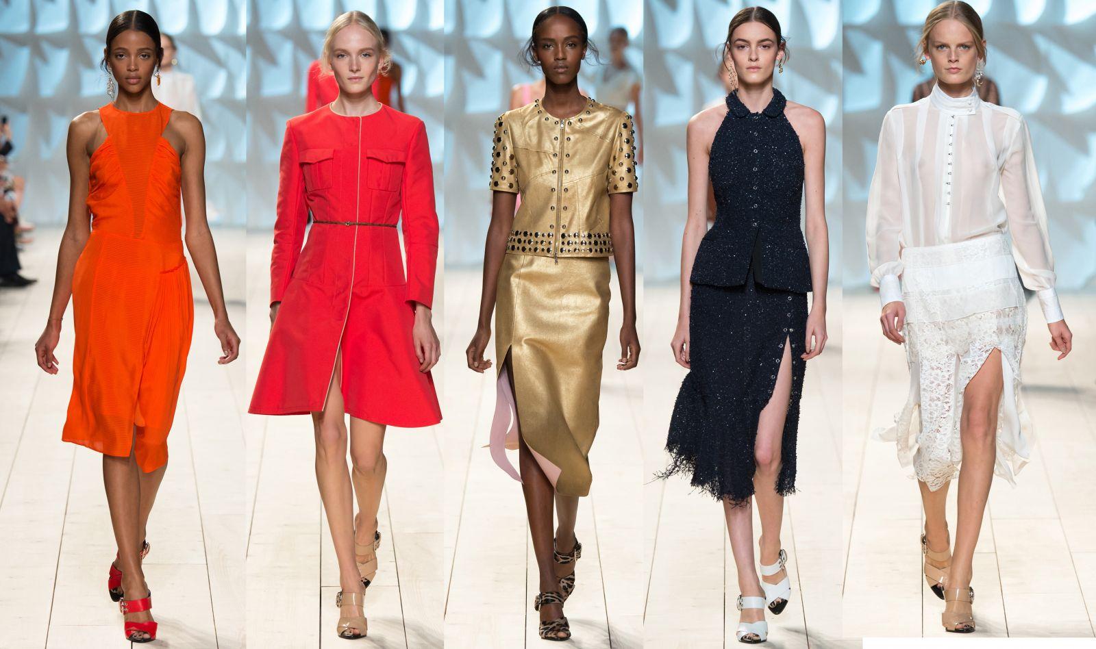 Неделя моды в Париже: Nina Ricci, весна-лето 2015 - фото №1