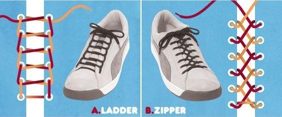 Как можно оригинально завязать шнурки на кроссовках: практические советы (фото и видео) - фото №1