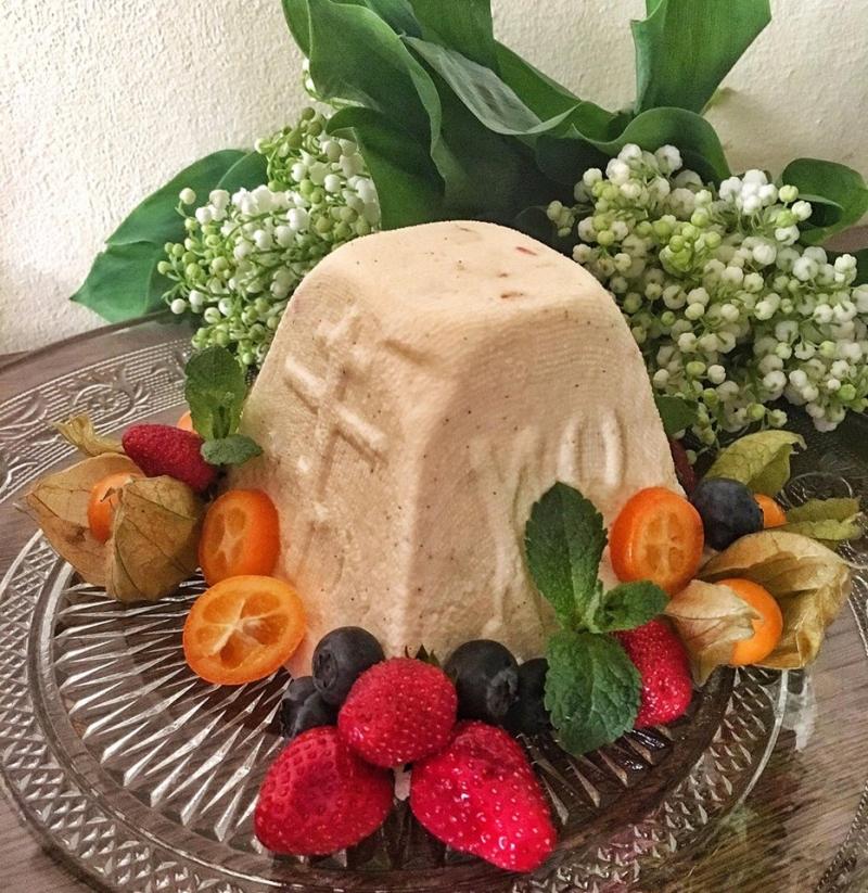 Классический рецепт творожной заварной пасхи – главного блюда праздничного стола - фото №6