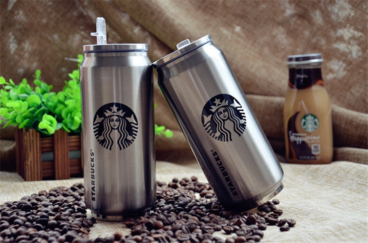 Термокружка с трубочкой Starbucks/One Peace