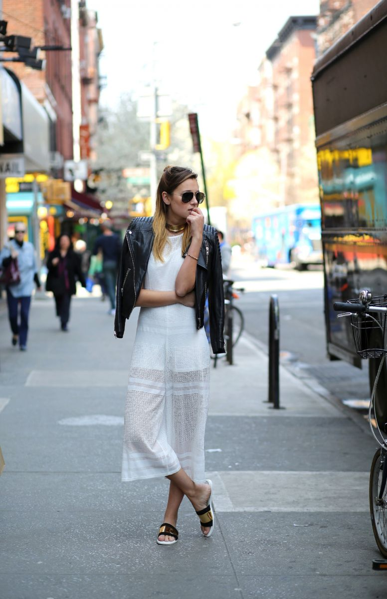 Тренд: модные брюки-кюлоты - фото №15