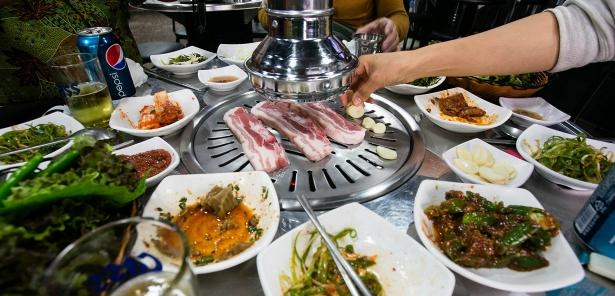 кухня Кореи