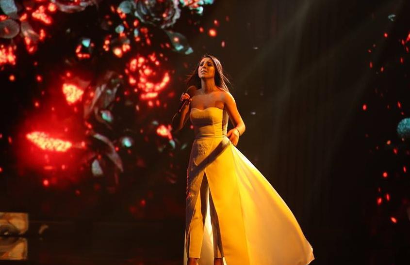 платье Джамалы на Евровидении 2016
