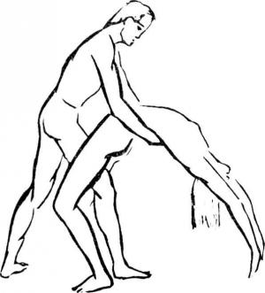 поза мостик в сексе