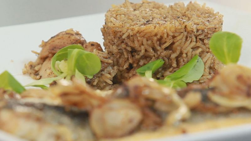 Золотые рецепты звезд: рис басмати по-индийски и жареный сибас от Леси Оробец - фото №14
