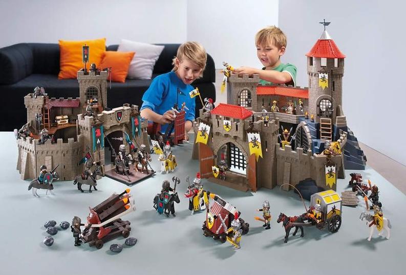 Выиграйте развивающие наборы для детей Playmobil! - фото №1