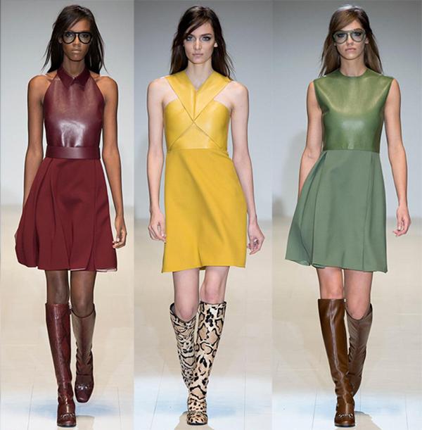 Объект желания: кожаное платье Gucci - фото №1