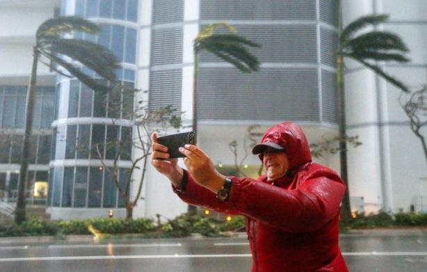 ураган ирма майами фото