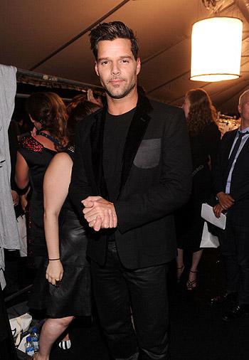 Неделя моды в Нью-Йорке: полосатое шоу Marc Jacobs - фото №17