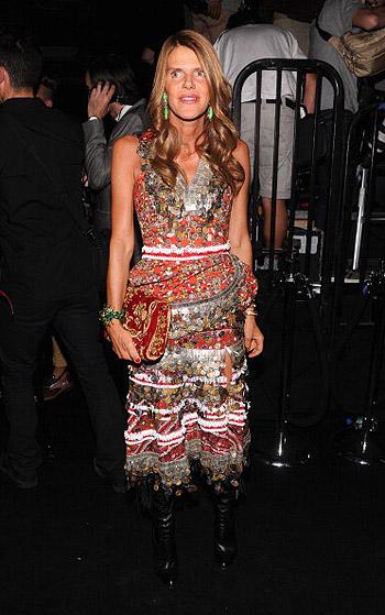 Неделя моды в Нью-Йорке: полосатое шоу Marc Jacobs - фото №11