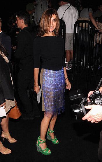 Неделя моды в Нью-Йорке: полосатое шоу Marc Jacobs - фото №12