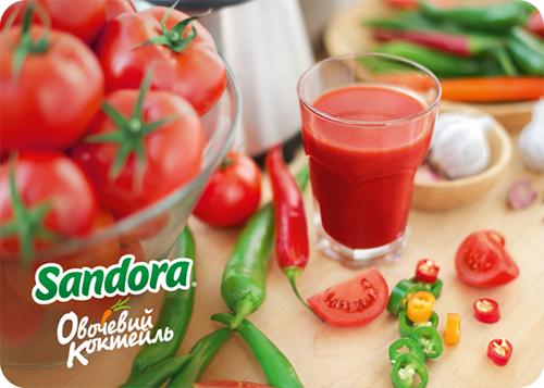 Сандора Овощной коктейль – как полезное сделать вкусным - фото №3