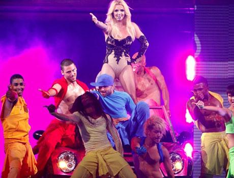 Спирс подарила приватный танец украинскому фанату - фото №1