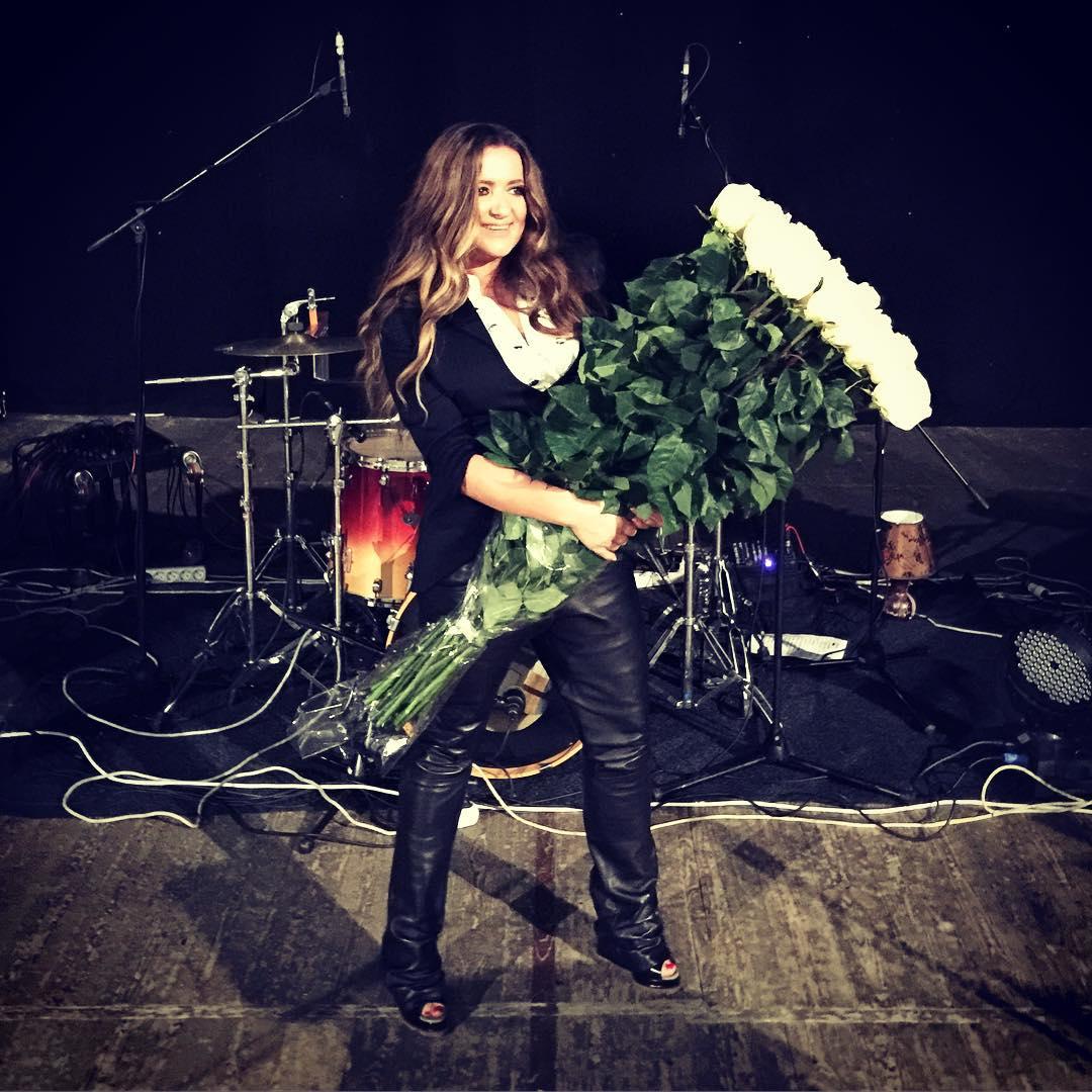 Наталья Могилевская после концерта
