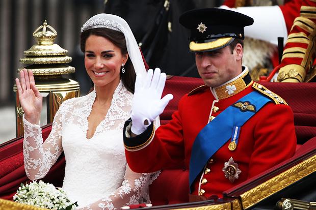 Кейт и Уильям свадьба