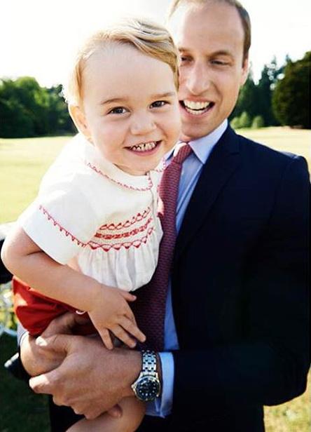 Уильям с сыном