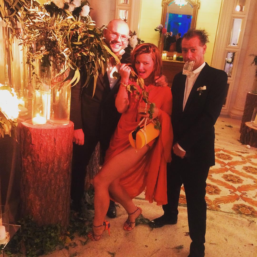 Илья Чичкан и Маша Шубина на свадьбе Арфуша и Петровой