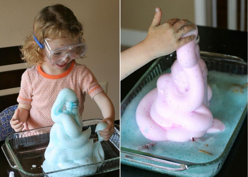 Вулканы, моря и дожди в домашних условиях: чем познавательным занять ребенка - фото №3