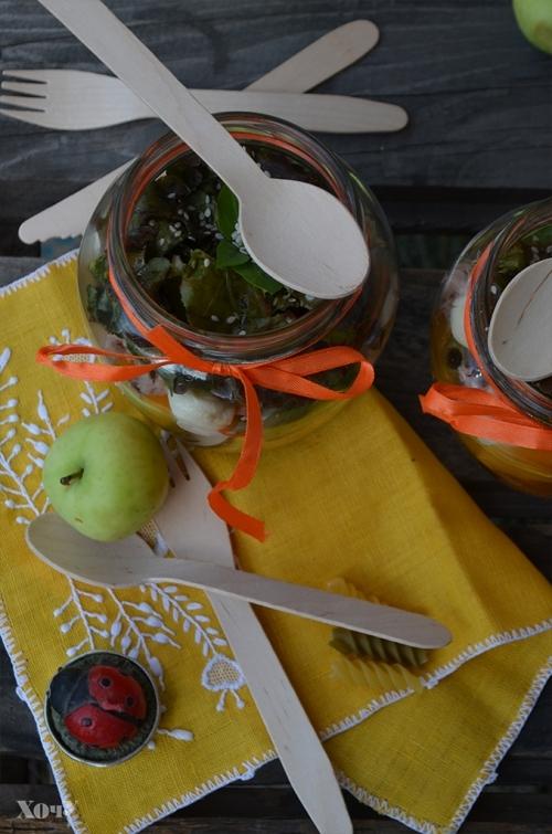 Кулинарная колонка Оли Мончук. Салат в банке - фото №11