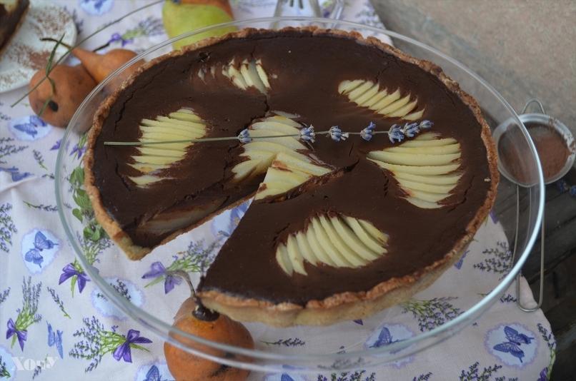 пирог с грушами пошаговый рецепт с фото