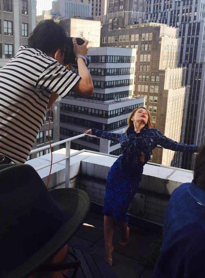 Моя любовь живет на 72-м этаже: фотосессия Тины Кароль на небоскребе в Нью-Йорке - фото №1