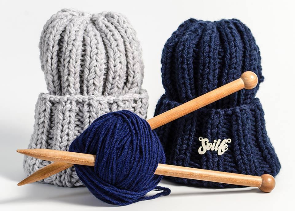 Где одеться в Украине: объемные шапки на зиму