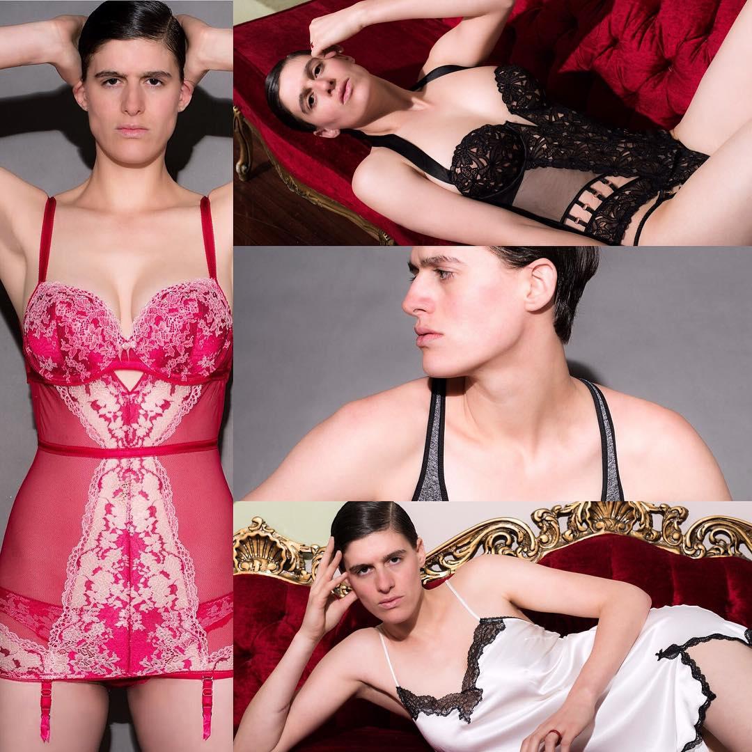 Тело женщины, лицо мужчины: как живется бигендерной модели - фото №4