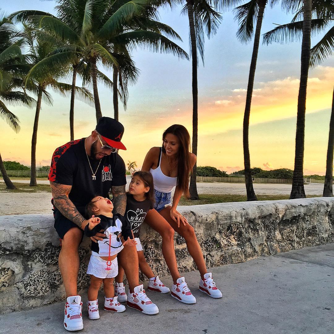 Джиган с Самойловой в Майами