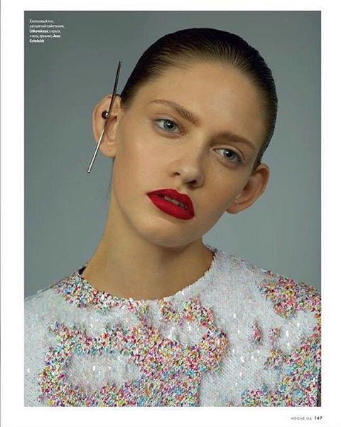 Арина Любителева покорила киевский подиум: ноги от ушей и харизма 4-го размера - фото №1