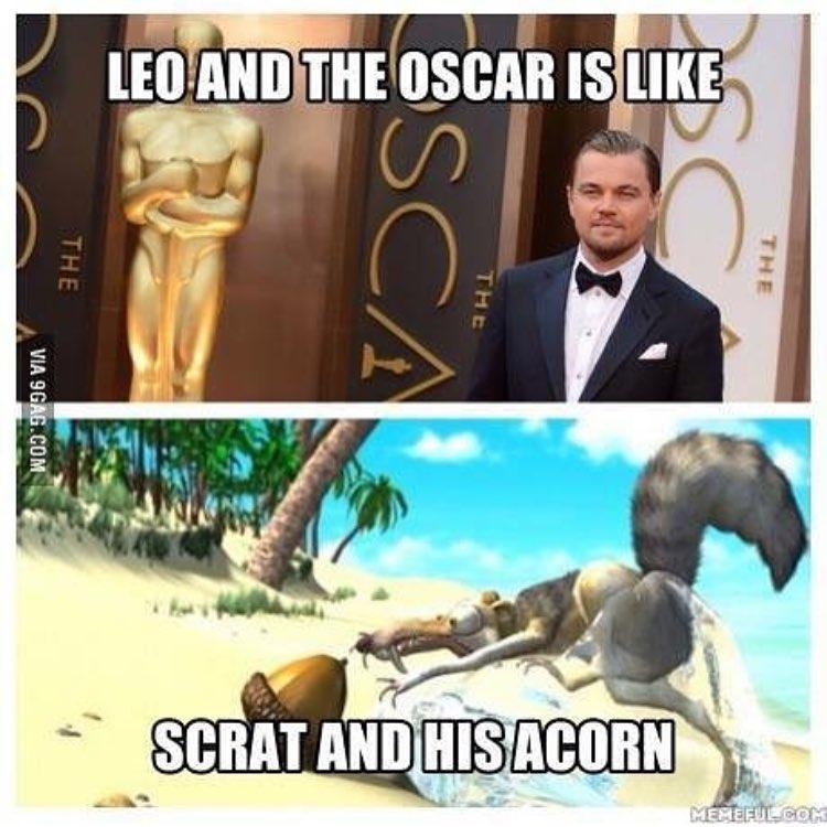 Оскар 2016 ДиКаприо