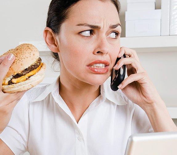 Летний перекус в офисе: чем питаться - фото №1