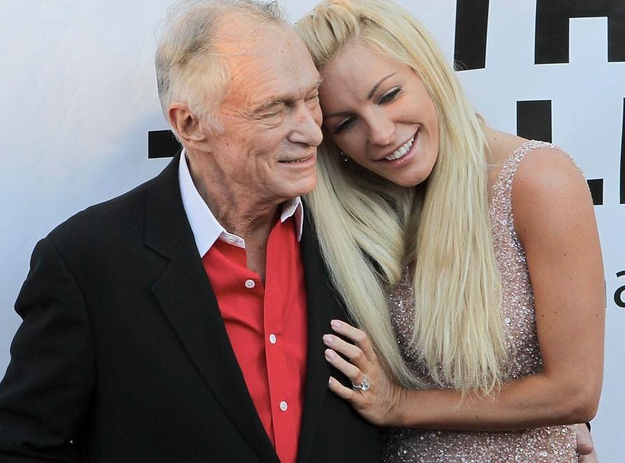 хью хефнер с женой фото