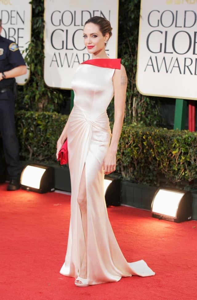 Женский дресс-код Black-tie Анджелина Джоли на красной дорожке