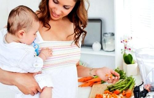 Диета для кормящих мам - фото №3