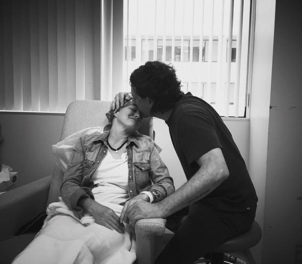 рак груди с мужем