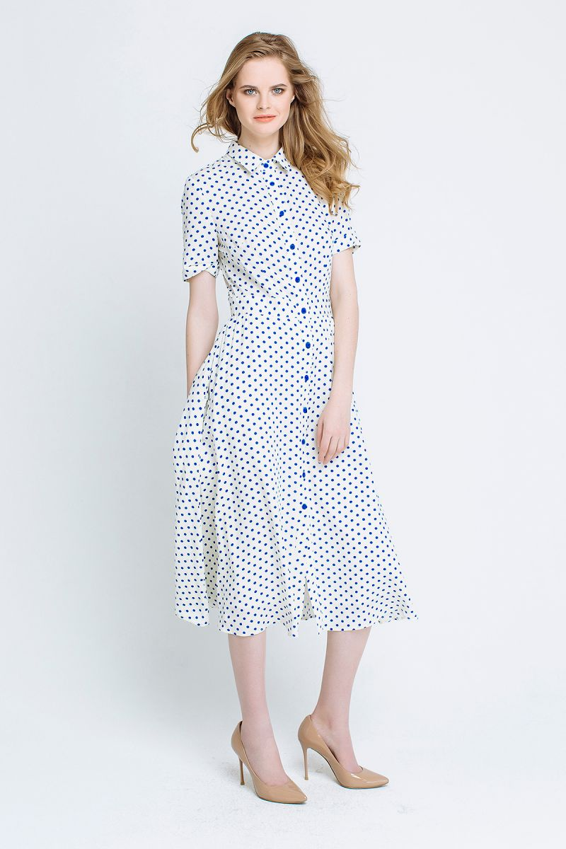 Как одеться на работу: 10 летних платьев для офиса