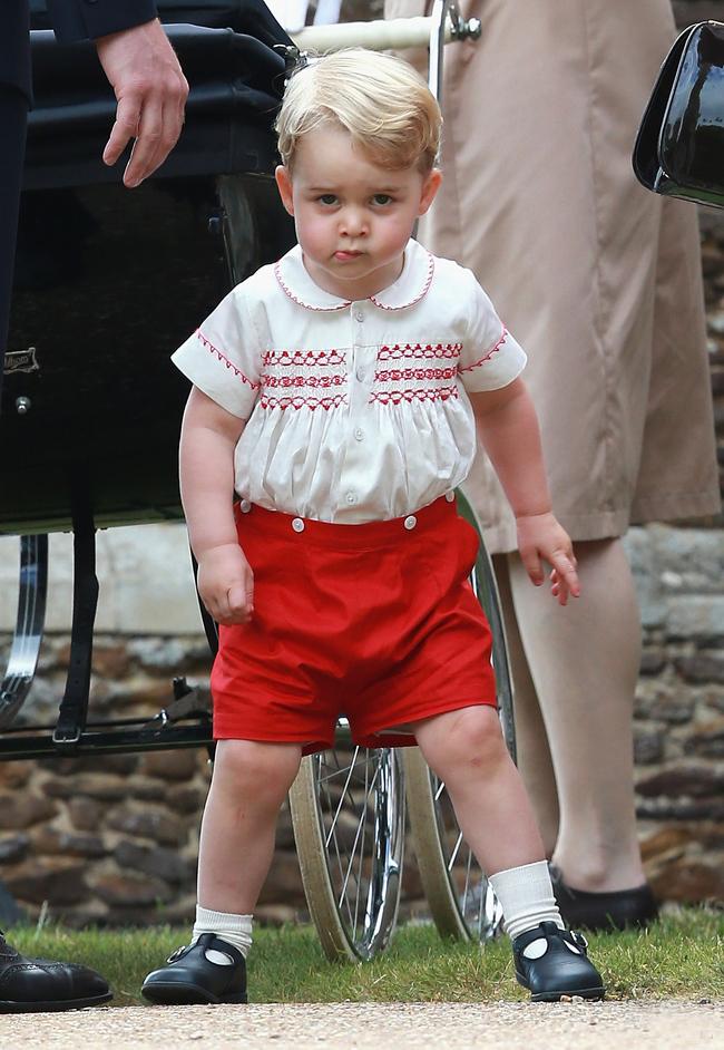 Принцу Георгу – 3 года: самые яркие выходы